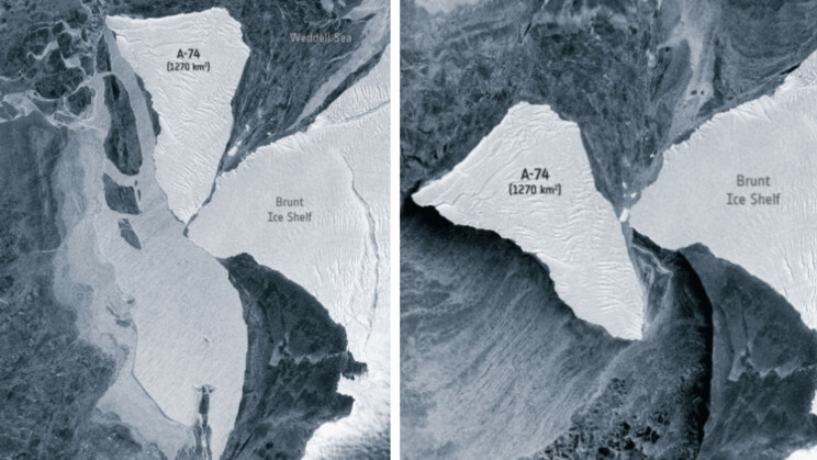 An Iceberg the Size of LA Barely Missed Major Collision In Antarctica 1