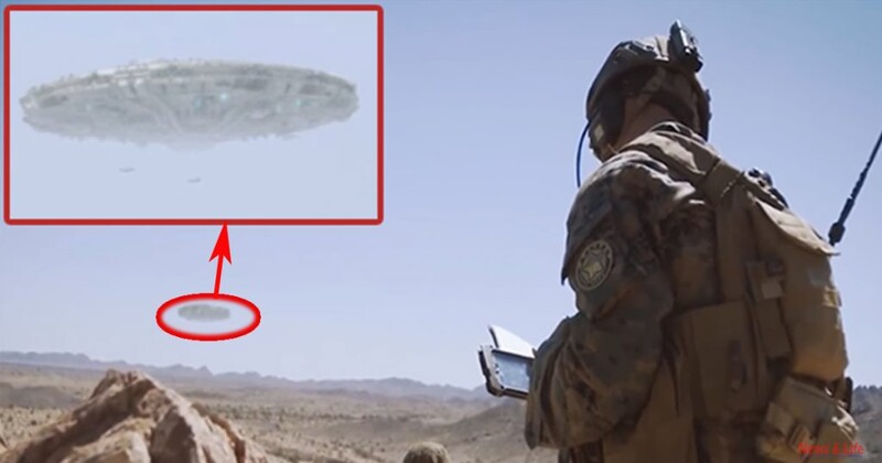 The US Marines filmed large UFOs in the Arizona desert (video) 2