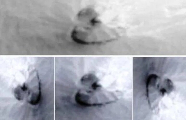 NASA discovers a 600-foot-wide UFO on Mars – It can still be functional, according to experts (video) 1