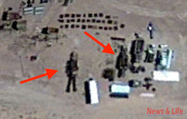 16 Meter Robot Found In Area 51 On Google Earth Map (video) 2