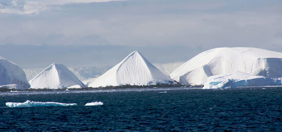 Did extraterrestrials built the mysterious pyramids of Antarctica? 1
