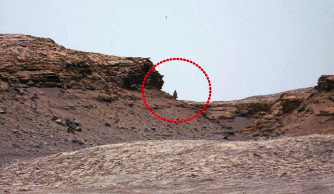 Incredible: Another Ancient Statue was Recently Discovered on Mars 2
