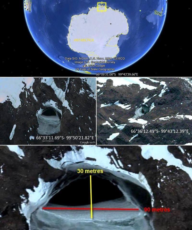 Is the gate to underground world in Antarctica? 1