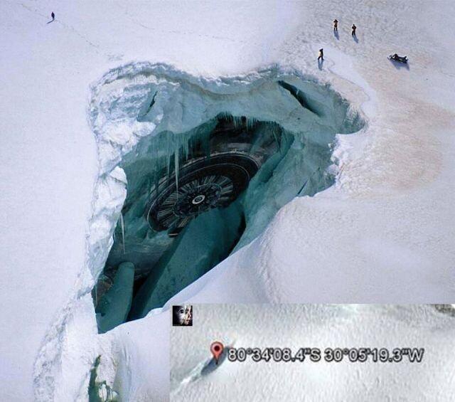 Is the gate to underground world in Antarctica? 7