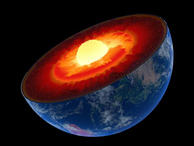 Earth's Inner Core Is Growing Lopsided – Here's Why the Planet Isn't Tipping 1