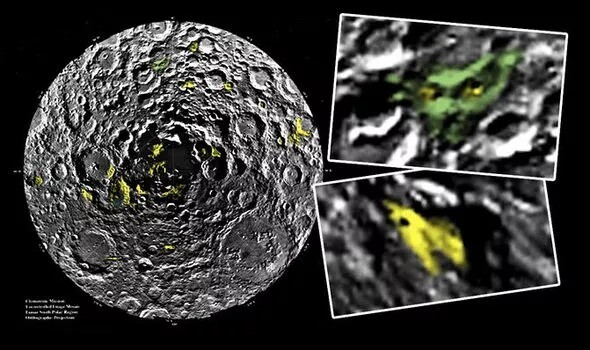 Aliens on the Moon: UFO hunter is '100% confident' about alien structures on Moon's pole 1