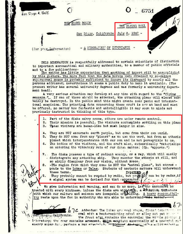 FBI Agent Met Aliens From Other Dimension In 1947, Who Just Wanted Peace With Humans 2