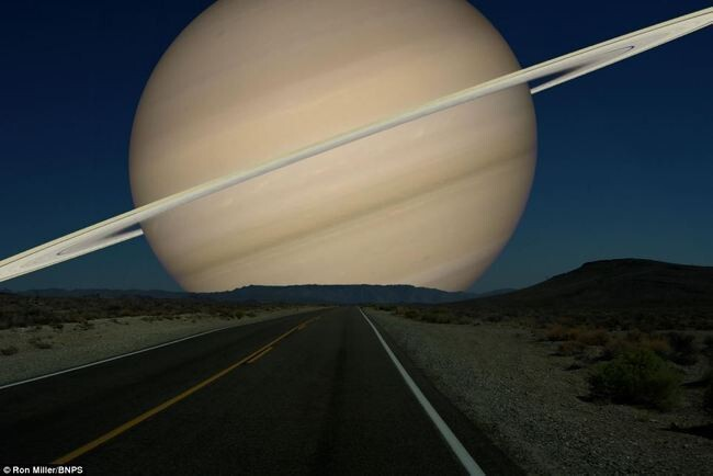 What the Night Sky Would Look Like If the Other Planets Were as Close as the Moon 6