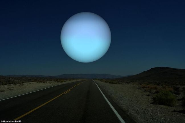 What the Night Sky Would Look Like If the Other Planets Were as Close as the Moon 7