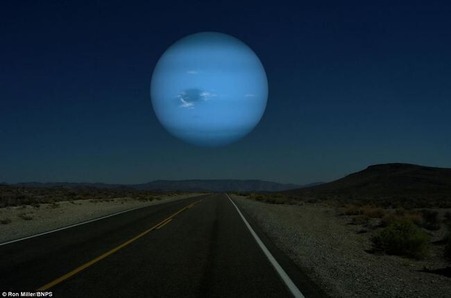 What the Night Sky Would Look Like If the Other Planets Were as Close as the Moon 8