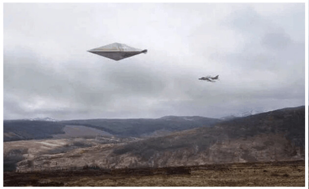 Mystery Of Britain's Clearest UFO Photo From Calvine Incident Will Be Solved In 2072 1