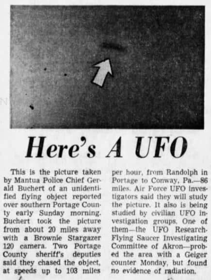 Ohio Policeman Chased Huge UFO For 138 Km And Took Photos, But It Ruined His Life 3