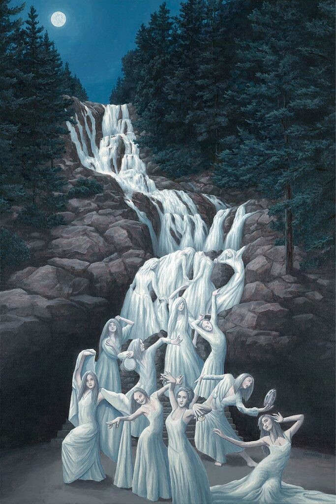 5+ amazing optical illusion paintings by artist Rob Gonsalves 2