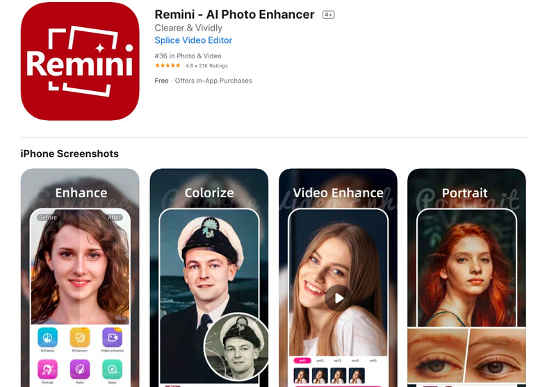 Without Photoshop, these apps will help you improve the quality of photos on your iPhone! 1