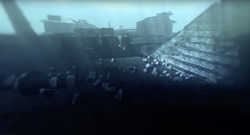 Was this underwater pyramid in China the ancient city mentioned in the legend? Why were they underwater? 1