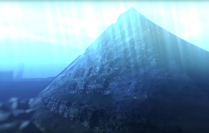 Was this underwater pyramid in China the ancient city mentioned in the legend? Why were they underwater? 2