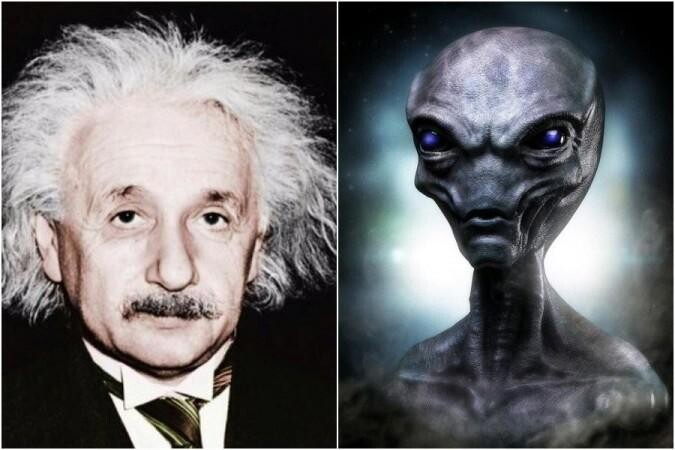 Dr. Shirley Wright stated that Albert Einstein flew to the US military airbase In 1947 to study UFO and Alien wreckage 3
