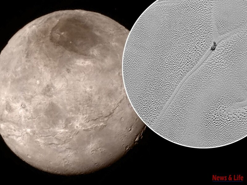 (VIDEO) A strange creature was captured sliding on The Surface of Pluto? What do you think? 3