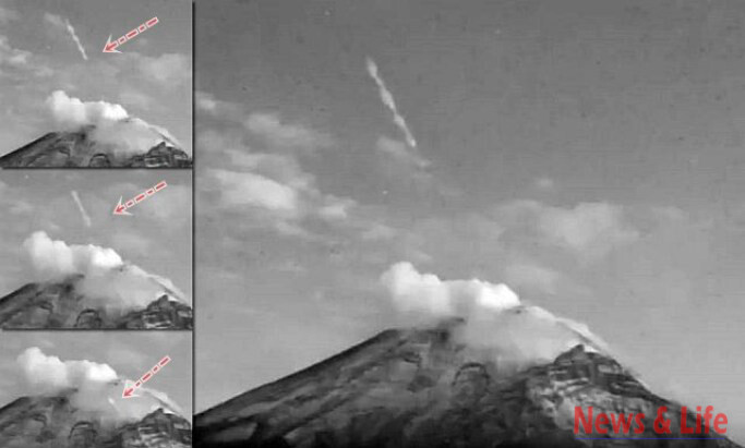 Here Is The Reason why there are so many UFO sightings near Volcanic Eruption 2