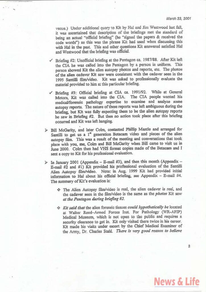 Unbelievable! CIA confirmed the 1947 Alien video 6