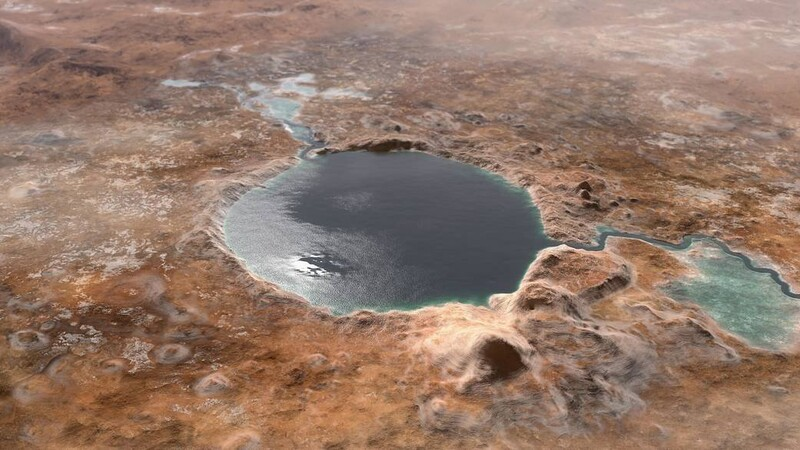 NASA Acknowledges What They Suspected About Jezero Crater on Mars All Along 3