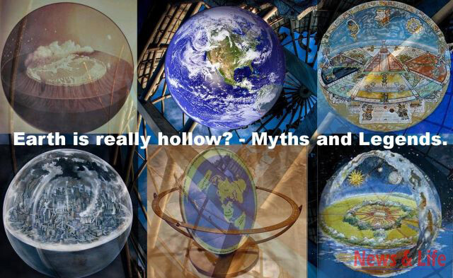 Myths And Legends About Earth - Do You Think  That Earth Is Really Hollow? 3
