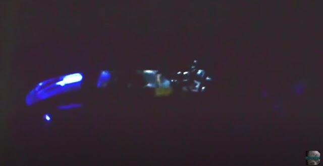 Enhanced new video! Alien grey walking around inside UFO 2