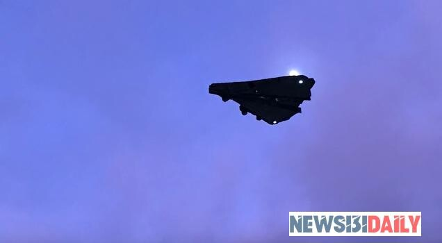 Proof of Alien contact? Mysterious aircraft above US military base sparks frenzy 3