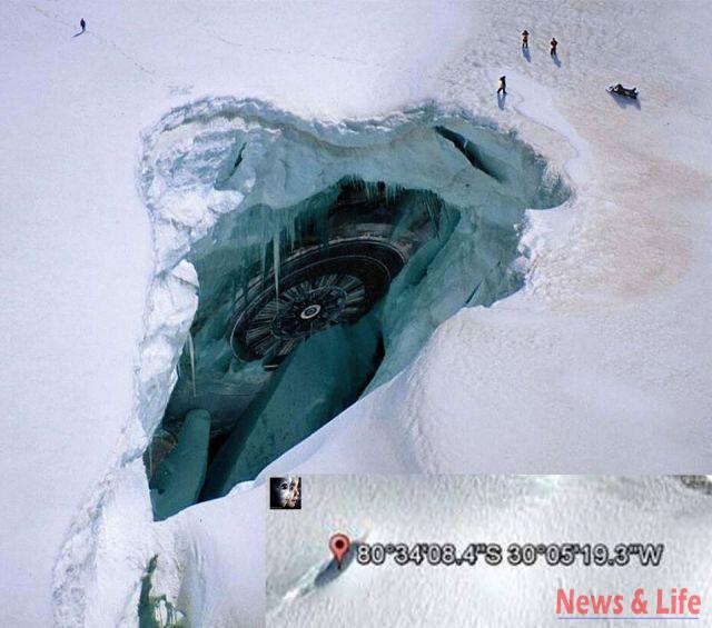 Is The Gate To Underground World In Antarctida? 5