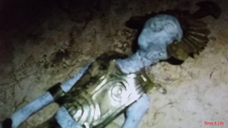 (5 Photos, 2 Videos) Discovering other bodies and traveling to the underground inhabited city: Mummy of Nazca 1